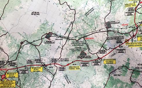 Dự án Dầu Giây - Tân Phú dự kiến khởi công vào cuối năm 2017