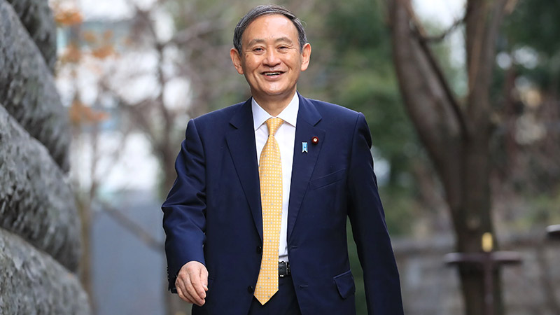 Mr. Yoshihide Suga is the 99th Prime Minister of Japan