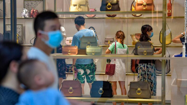 Despite the decline, Chinese consumption still shows positive signs